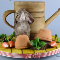 My Easter Bunny! I had so much creating this whimsical piece this Easter. Inspiration was derived from my favourite childhood author Beatrix Potter and my...