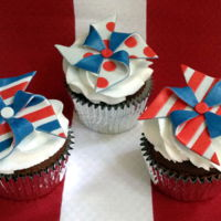 Patriotic 4Th Of July Cupcakes Happy Holidays!