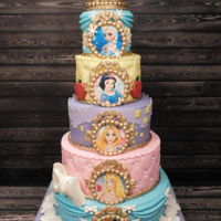 Princess Cake A Disney princess cake