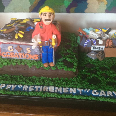 Retirement Cake For Gary