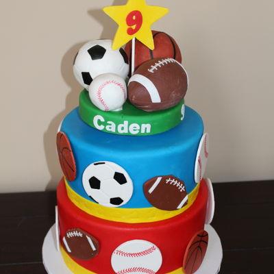 Brilliant Sports Cake Decorating Photos Birthday Cards Printable Benkemecafe Filternl