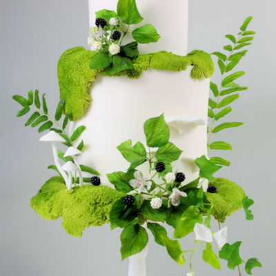 Woodland Wedding Cake For Diy Weddings Magazine