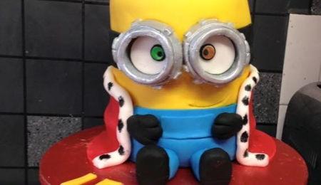 Bob Minion 3D Cake CakeCentralcom
