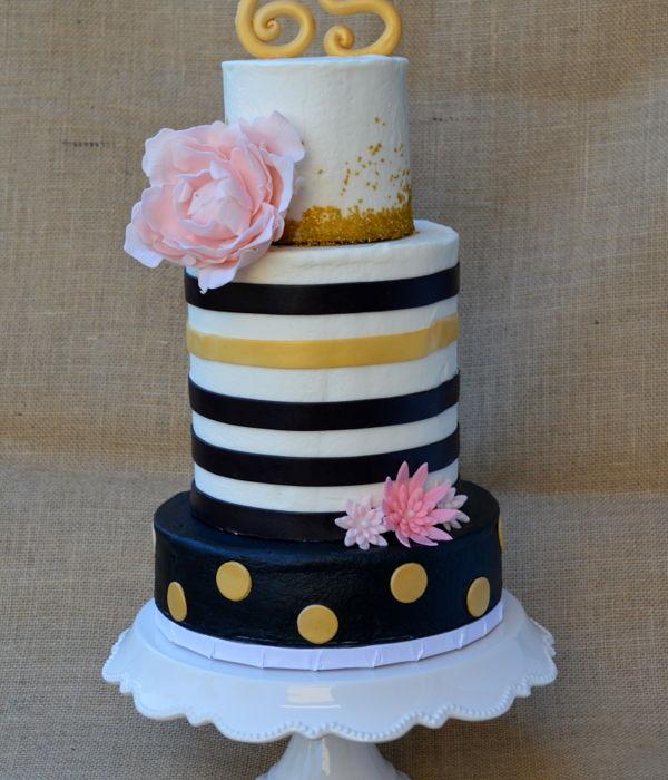 Black Gold Cake