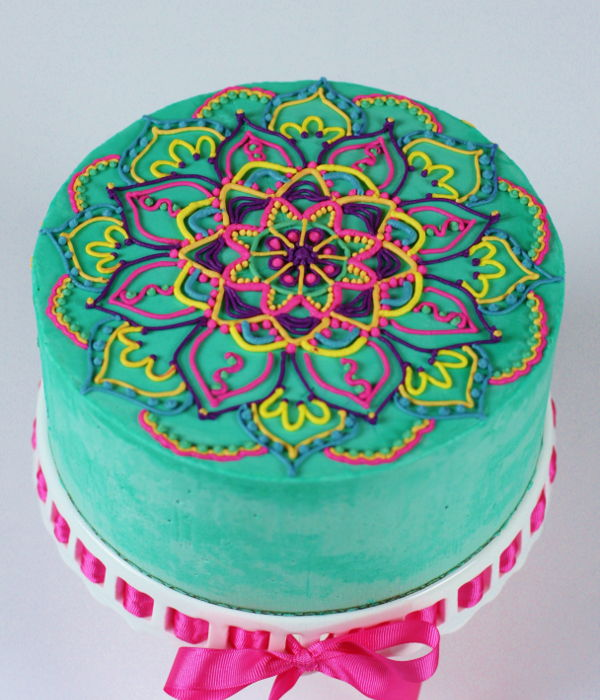 Buttercream Mandala