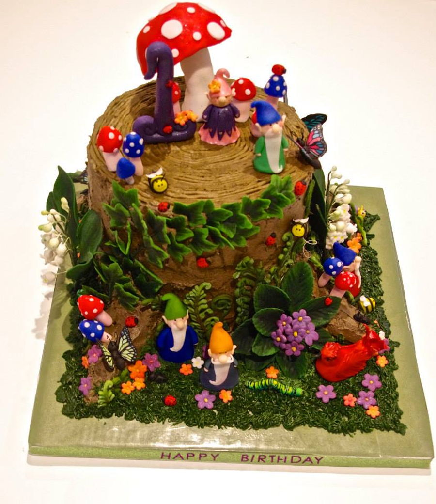 Gnome Cake Ideas
