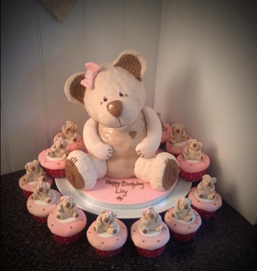 Teddy Bear Birthday Cake Recipe