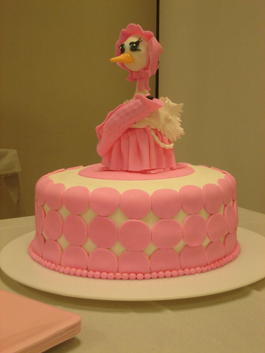 Baby Shower Cakes Stork ~ Baby shower stork cake cakecentral