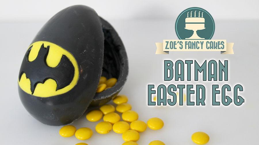Batman Easter Egg Cakecentral Com