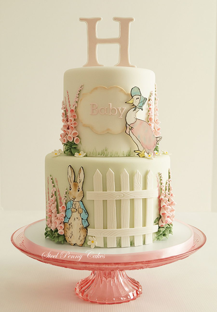 Beatrix Potter Cake Designs