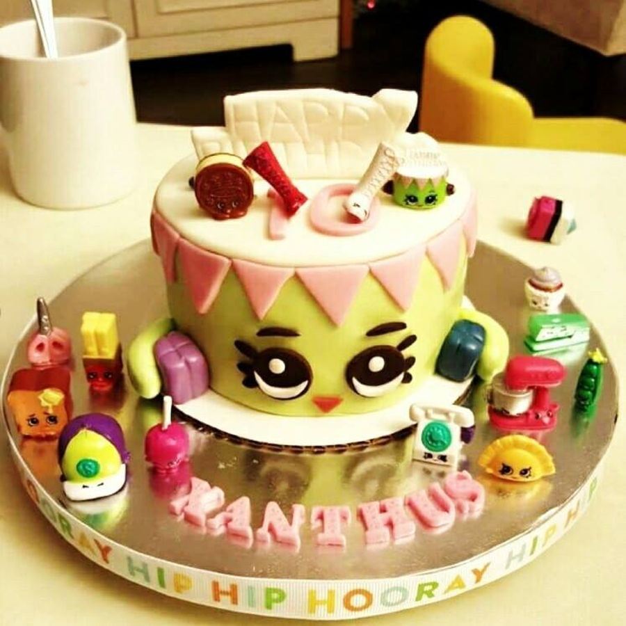 Shopkins Betty Birthday Cake
