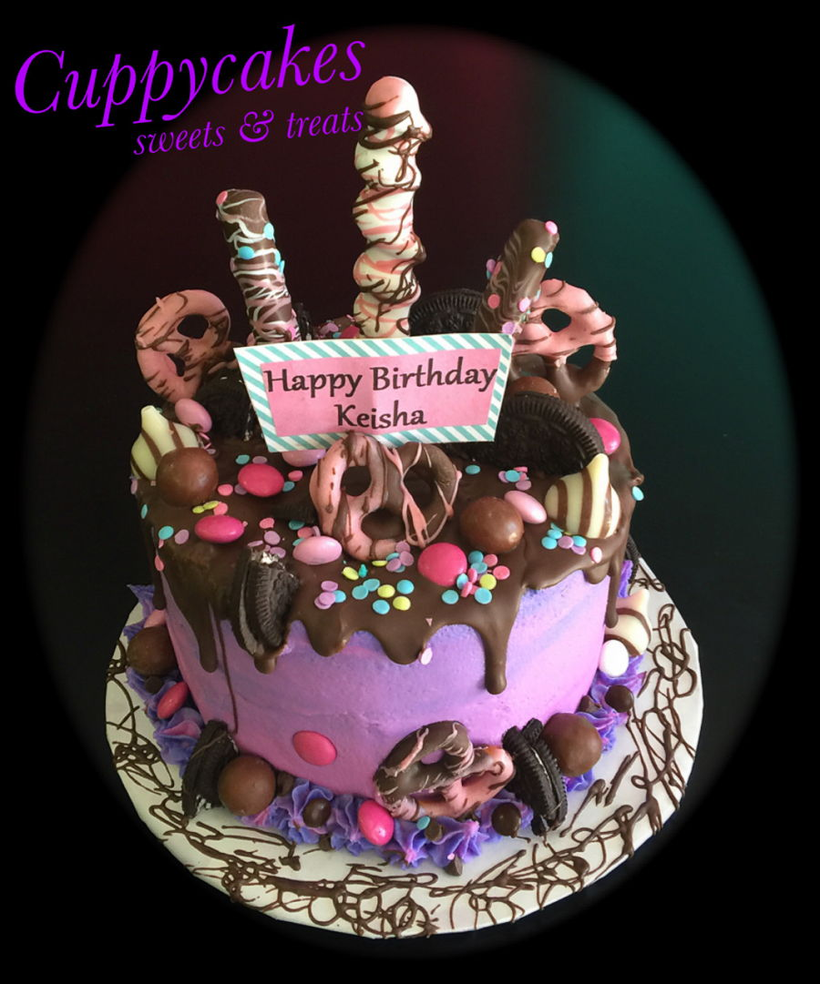 Cake Decorating Birthday Chocolate Cake