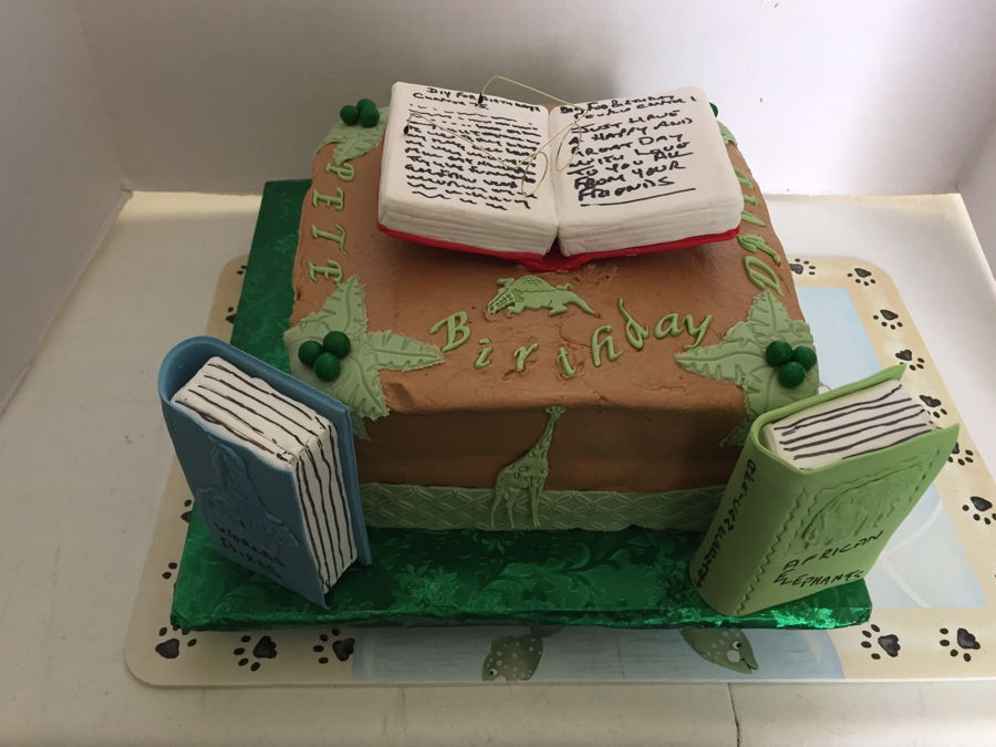 Pleasant Book Lovers Birthday Cakecentral Com Funny Birthday Cards Online Inifofree Goldxyz