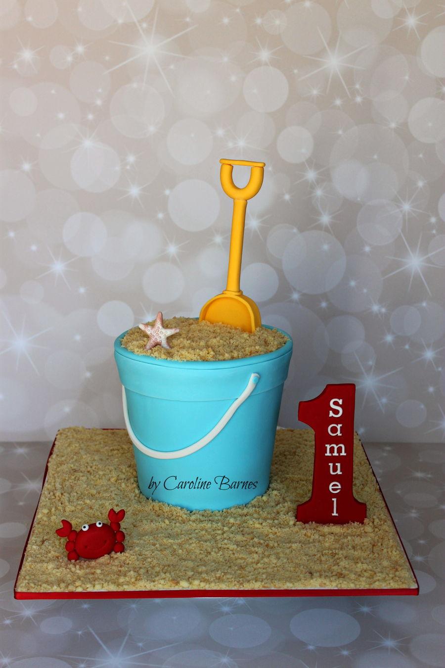 Beach Bucket Cake Recipe