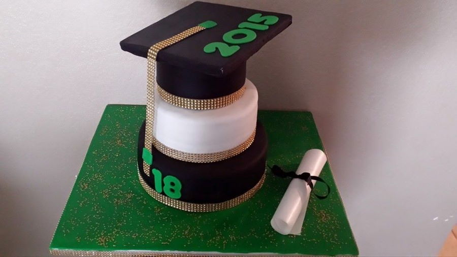 Cap And Diploma on Cake Central