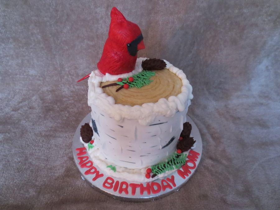 Cardinal Cake - CakeCentral.com