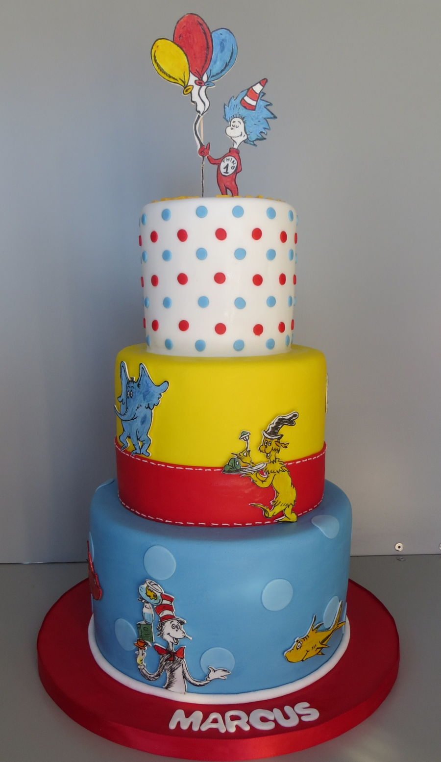 Dr Seuss on Cake Central