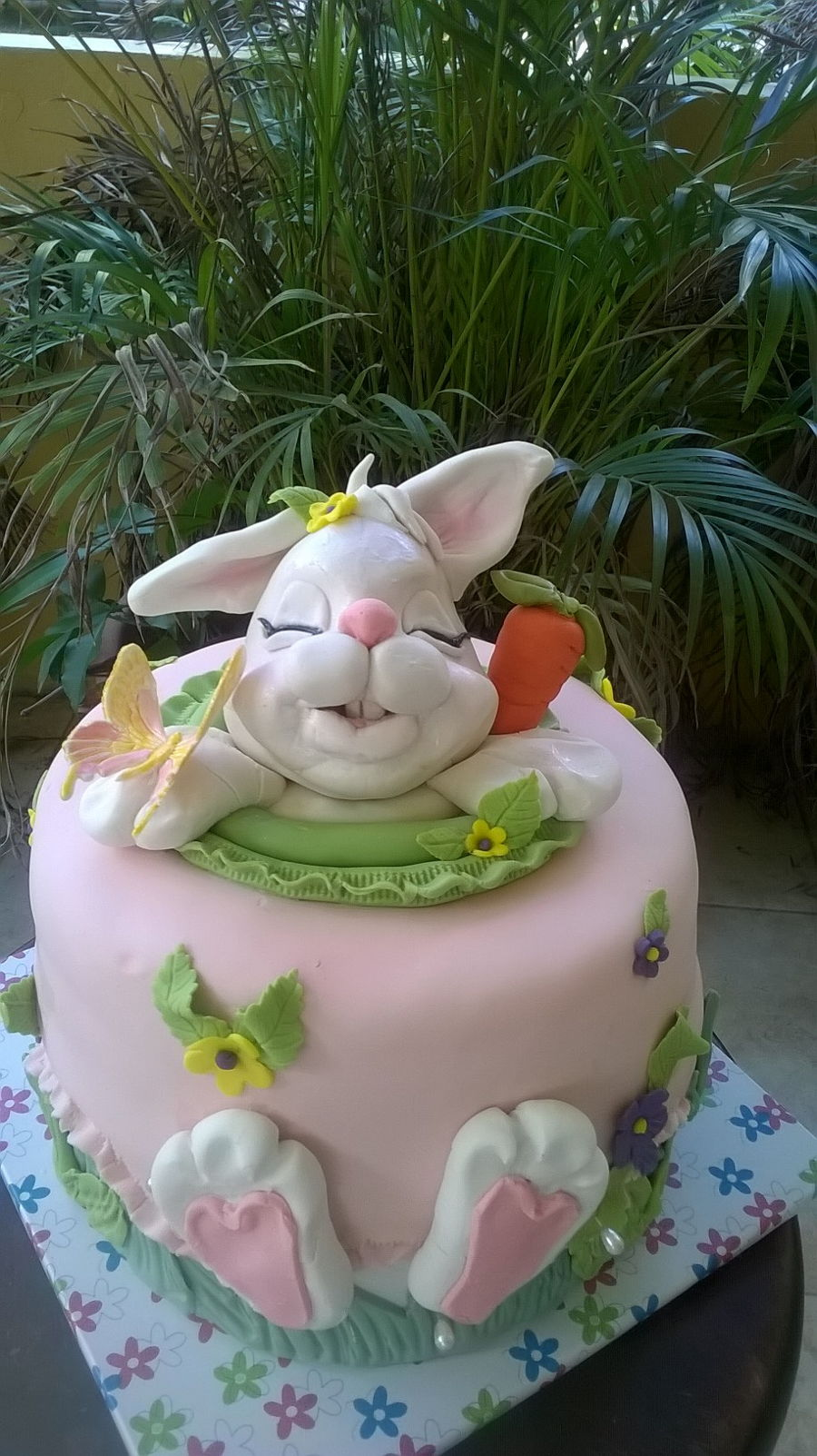 Easter Cake Icing Ideas : Easter Bunny Cake - CakeCentral.com