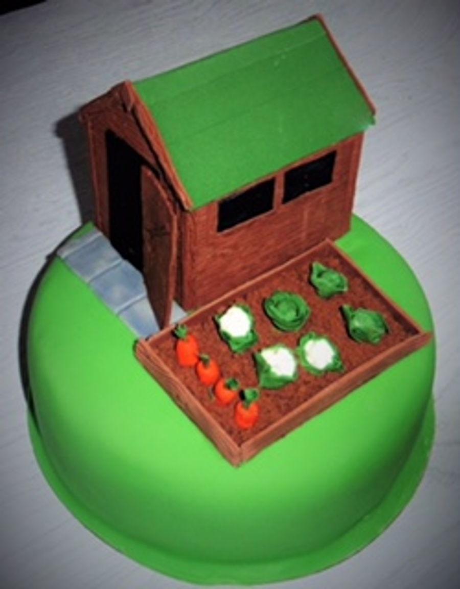 Garden Shed - CakeCentral.com