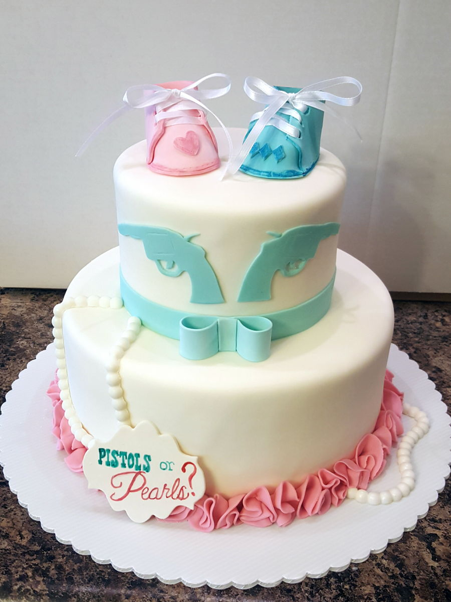 Baby Shower Gender Reveal Cake Ideas
