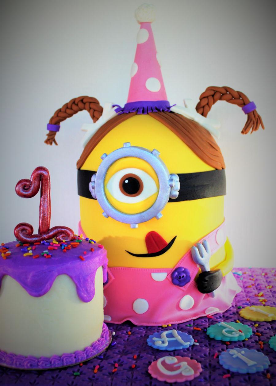 Girl Minion Cakecentral