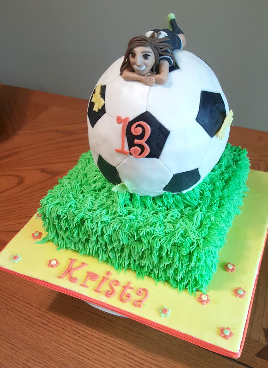 Soccer Ball Birthday Cake Designs