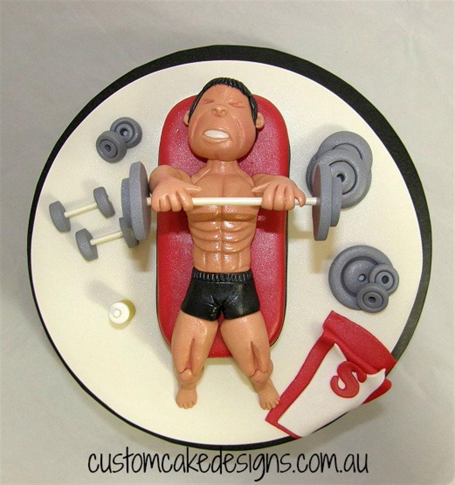 Gym Bodybuilding Cake Cakecentral Com