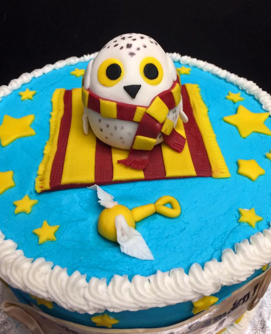 Harry Potter Themed Baby Shower Cake Cakecentral Com