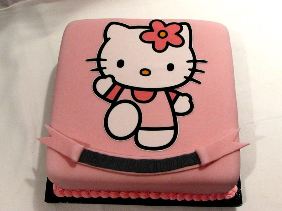 Hello Kitty Birthday Cake Toy Image Inspiration of Cake and