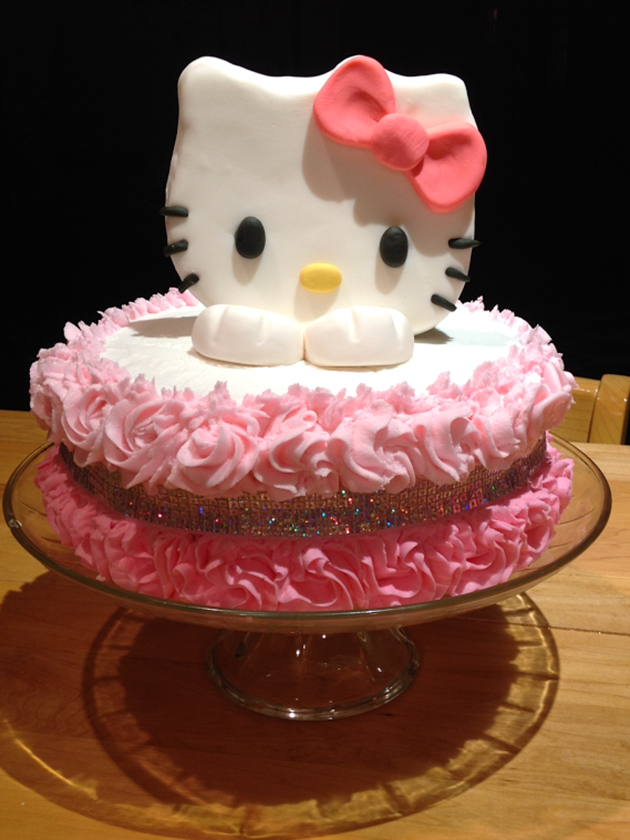 Hello Kitty Cake - CakeCentral.com
