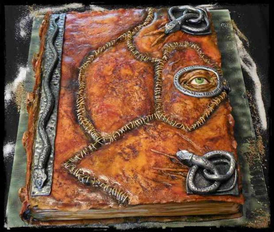 Spell Book Cake