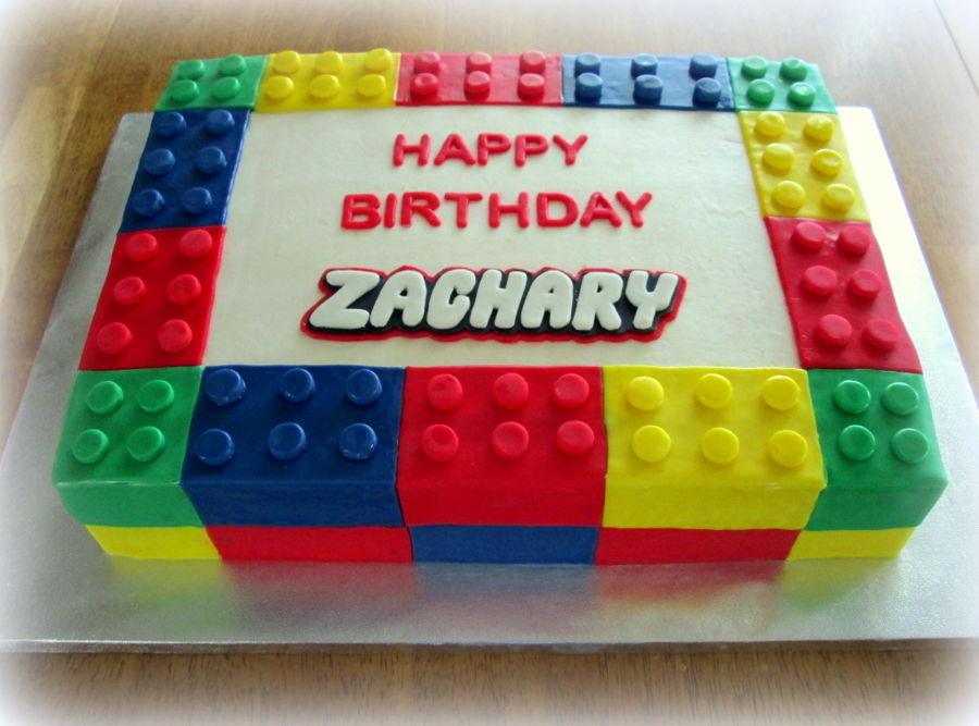 Diy Lego Birthday Cake