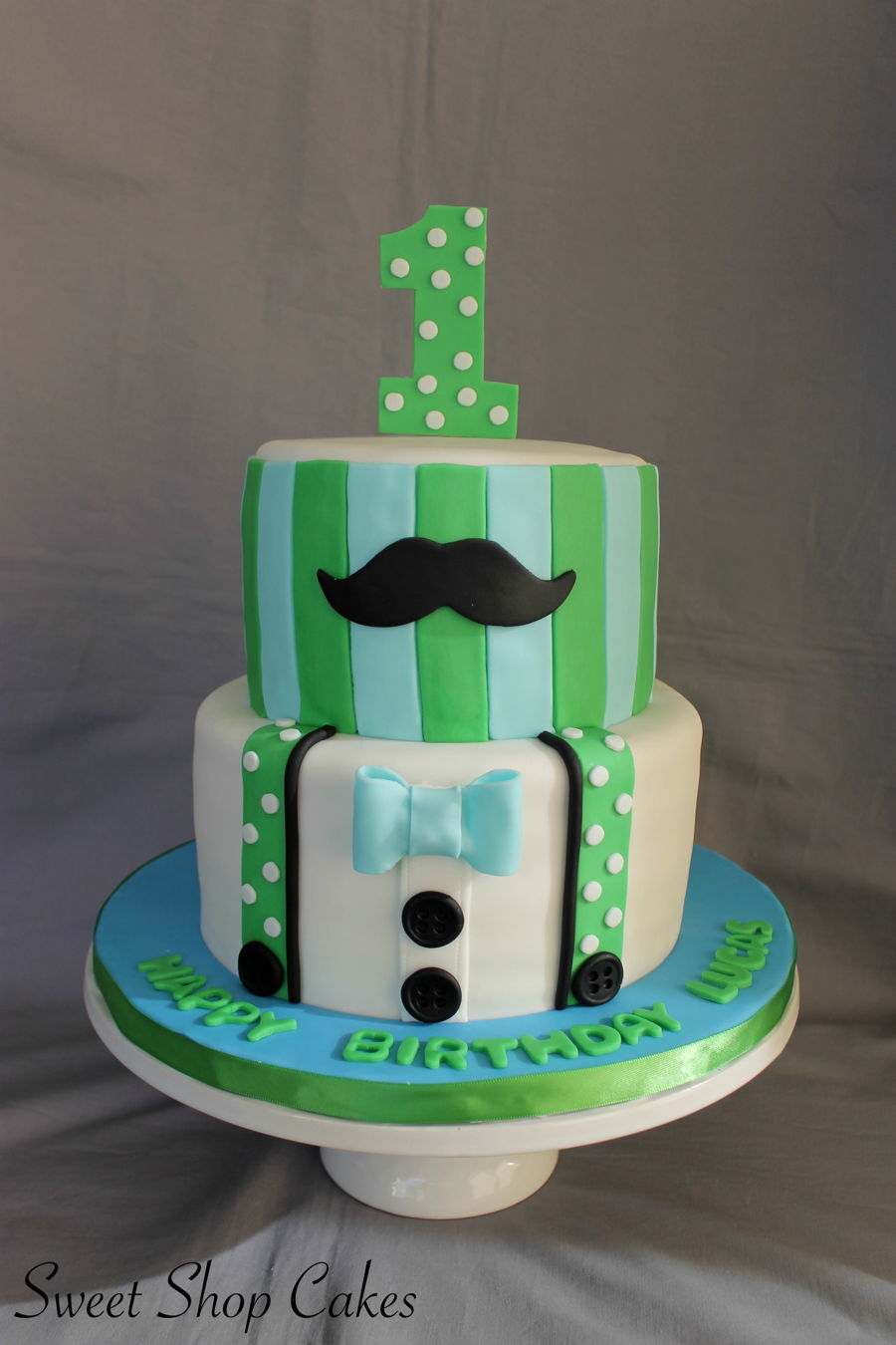 Little Man Themed Cake Cakecentral Com