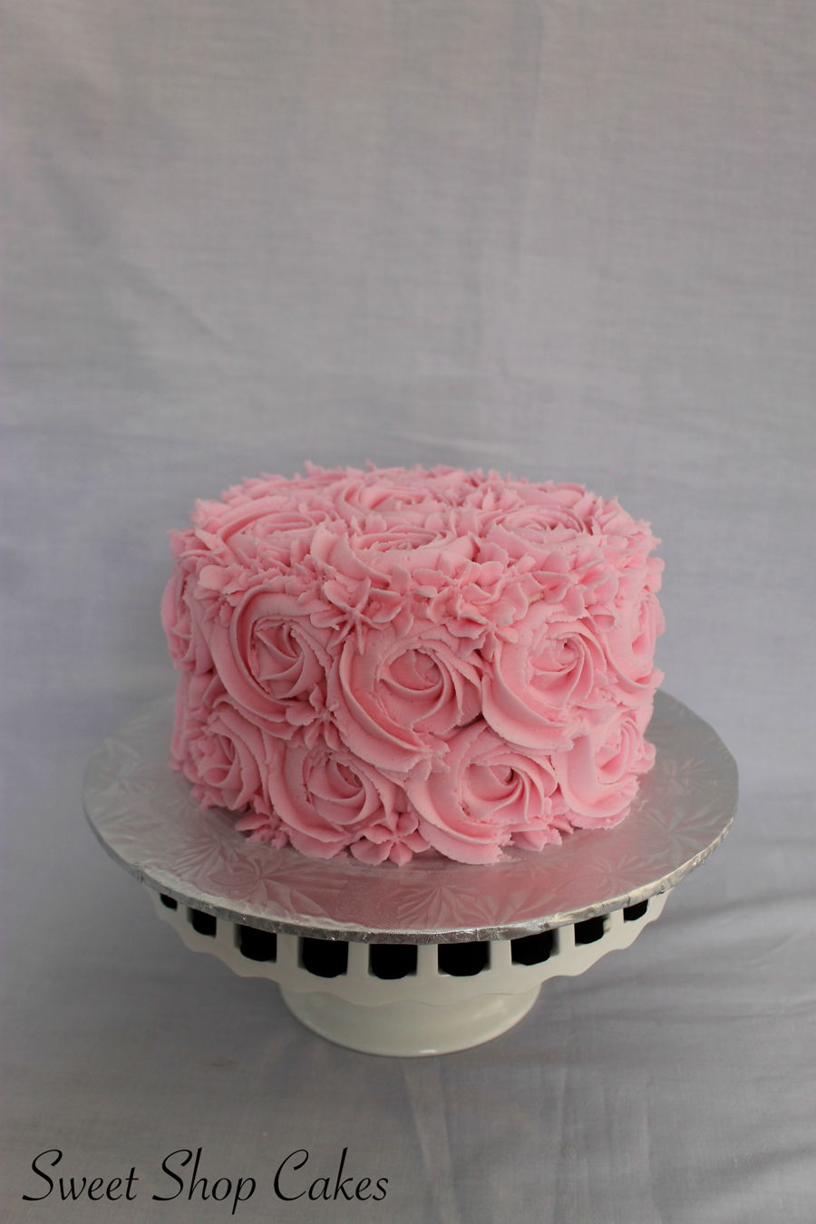 Rosette Smash Cake Tutorial