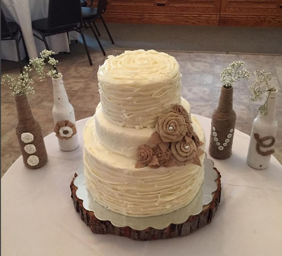 how to make rustic wedding cake rustic wedding cake cakecentral 15990