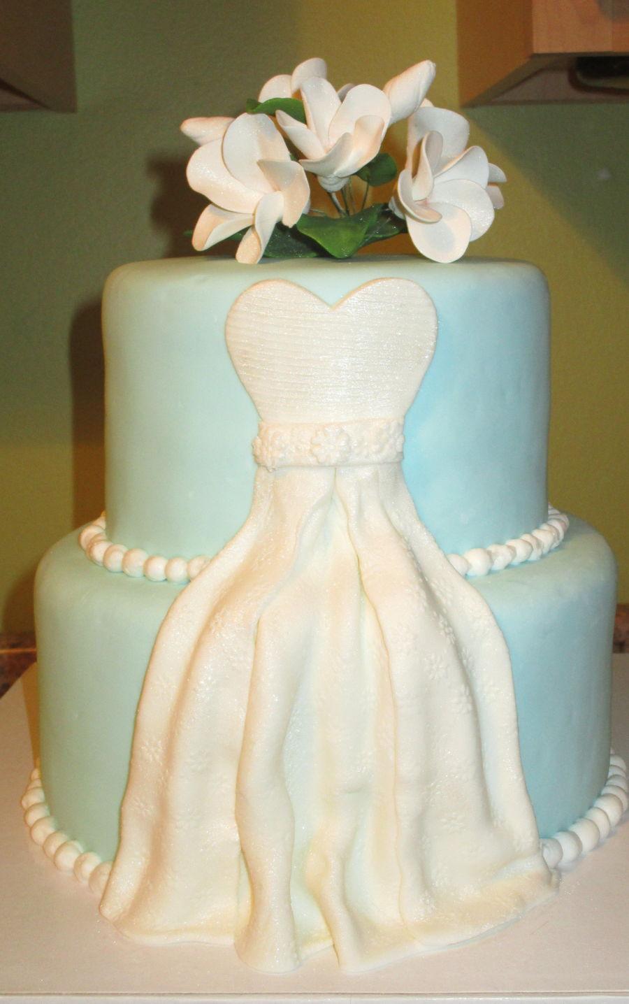 Sara S Bridal Shower Cake Cakecentral Com