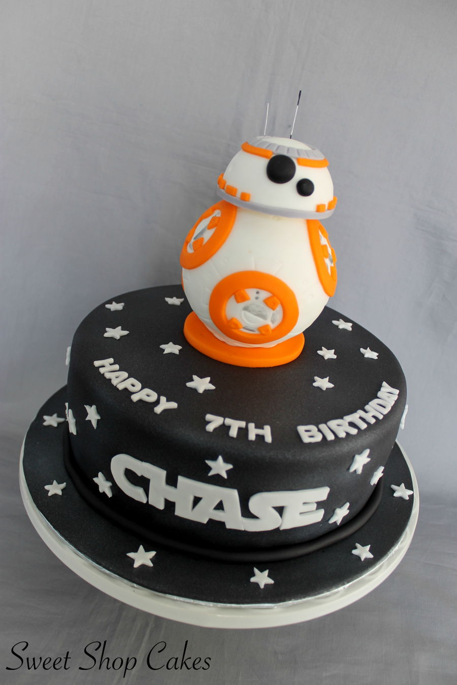 Star Wars Bb 8 Cake Cakecentral Com