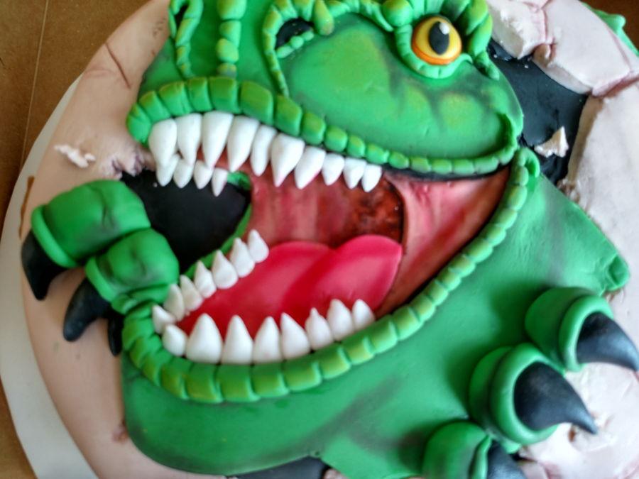 Dino Cake Template