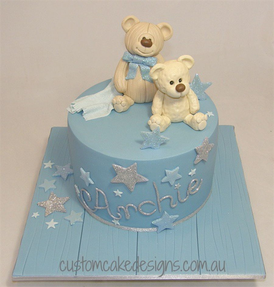 Brown Bear Brown Bear Birthday Cake