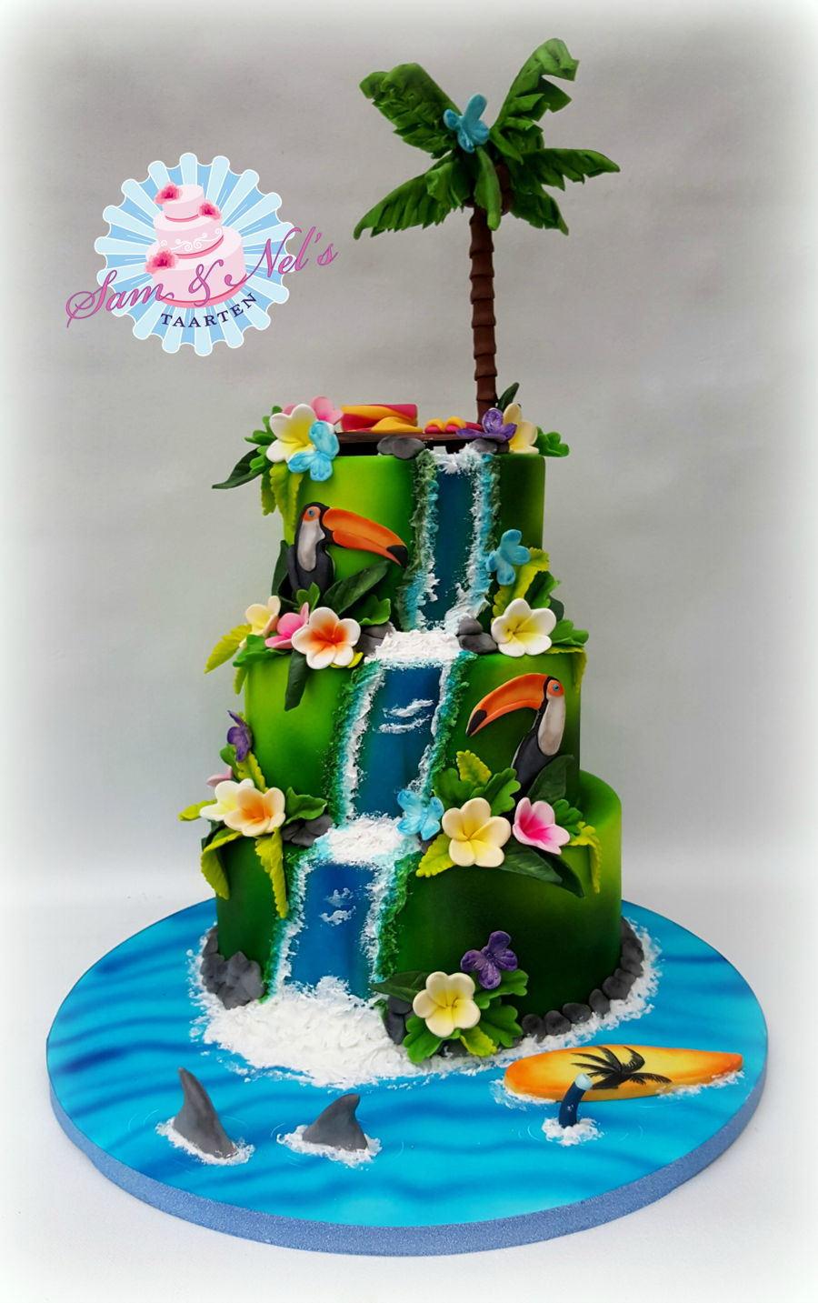 tropical themed wedding cakes tropical cake cakecentral 21273