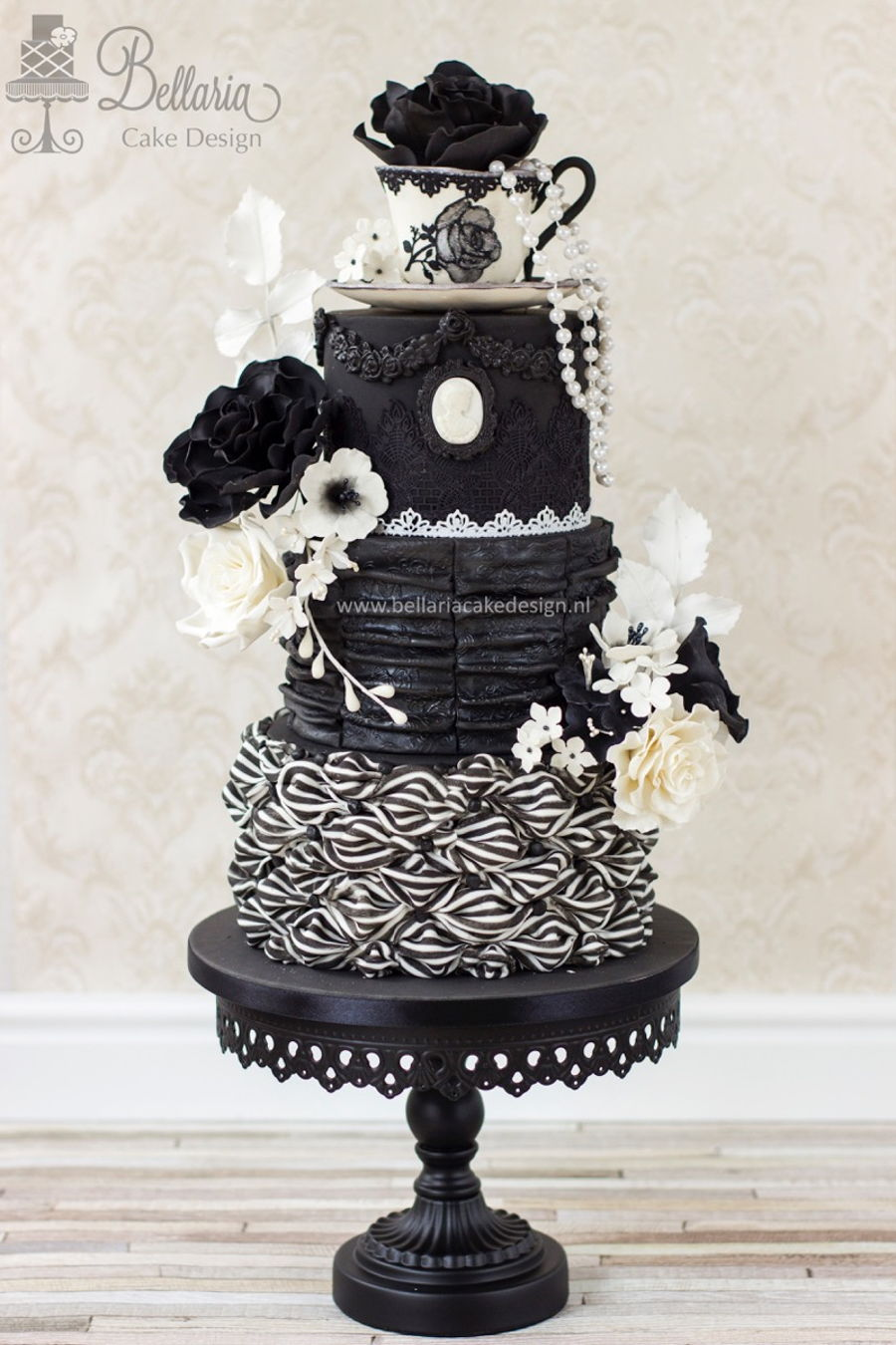 Victorian Gothic Chic Tea Party on Cake Central