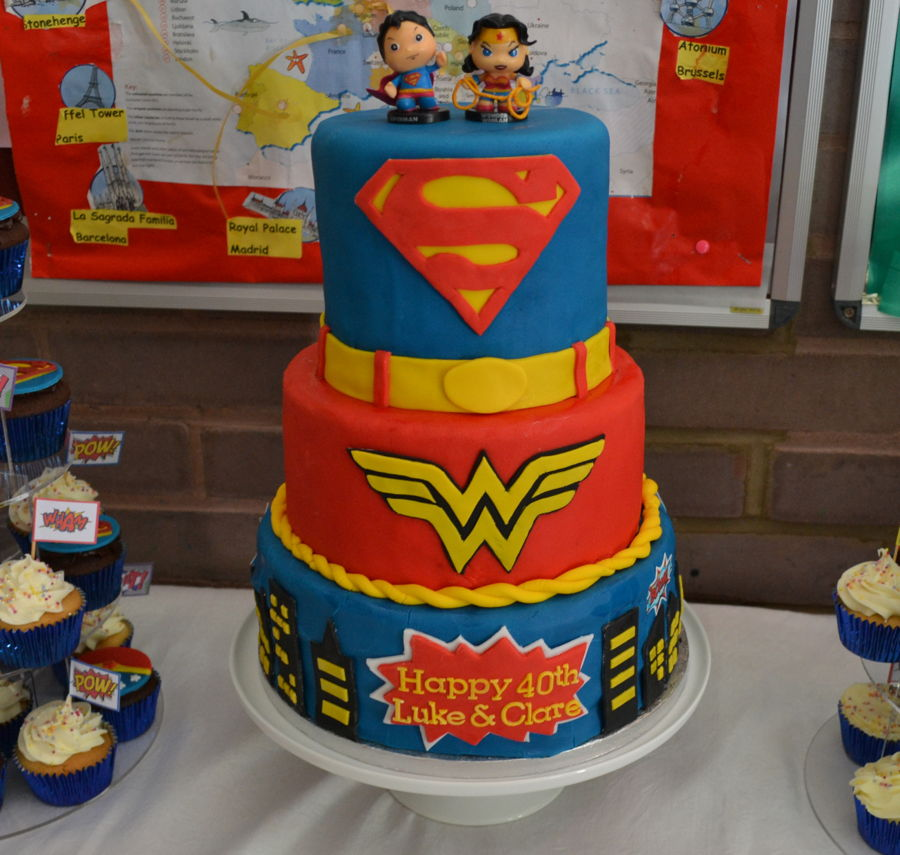 Wonder Woman Cake Topper Birthday