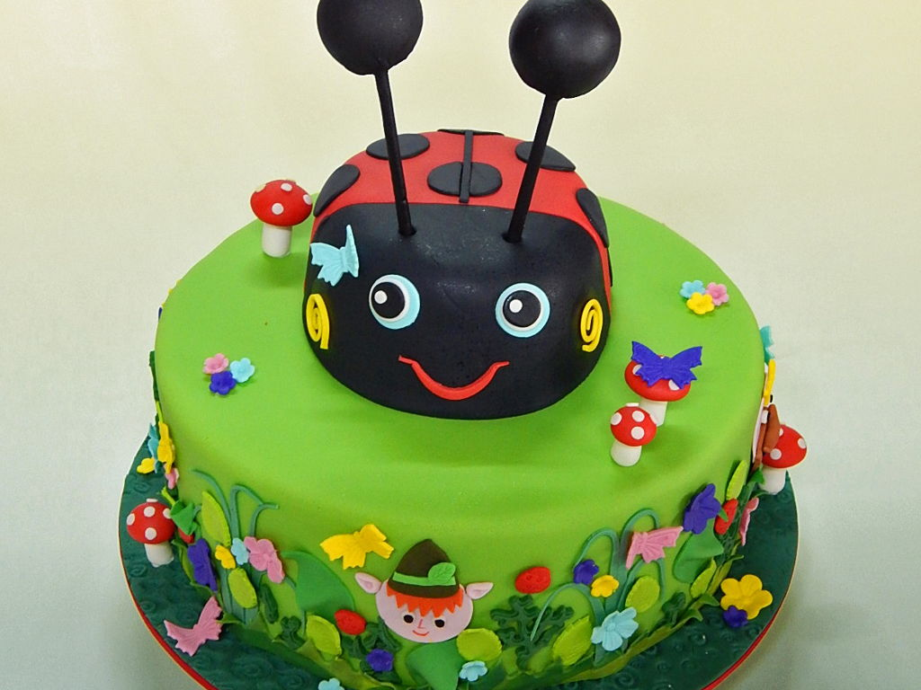 Ben Hollys Little Kingdom Cake Cakecentral