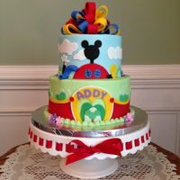 Addy's 3Rd Birthday Cake I made this cake for my granddaughter's 3rd birthday. She loves Mickey Mouse Clubhouse.
