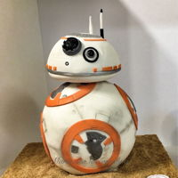 Bb8 Cake Star Wars BB8 cake