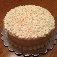 Carrot Cake Two layer carrot cake with cream cheese frosting to celebrate a last minute birthday at work. TFL!RJ