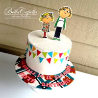 Charlie And Lola Charlie and Lola Cake by Bella Capella Culinary Delights in Queenslands Central Highlands.
