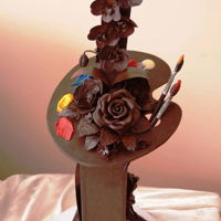 Chocolate Art Piece artistique en chocolat