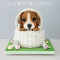 Ernie The Easter Puppy Easter Puppy Cake
