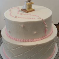 First Communion Cake Cake I did for a friend's daughter's First Communion.